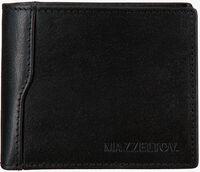 Schwarze MAZZELTOV Portemonnaie TIBOR01  - medium
