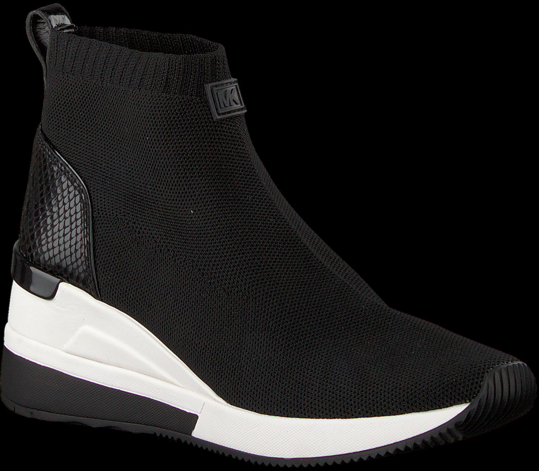 Schwarze MICHAEL KORS Sneaker SKYLER BOOTIE | Omoda.at