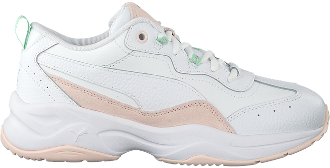 Weiße PUMA Sneaker low CILIA LUX  - large