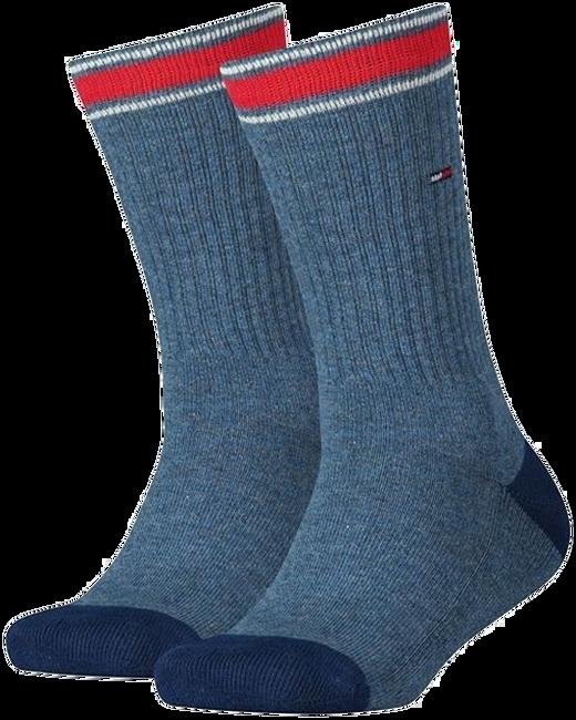Blaue TOMMY HILFIGER Socken TH KIDS ICONIC SPORTS SOCK 2P - large
