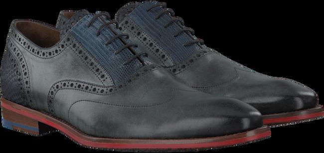 Graue FLORIS VAN BOMMEL Business Schuhe 19062 - large