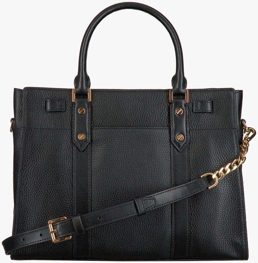 Schwarze MICHAEL KORS Handtasche NOUVEAU HAMILTON LG  - larger