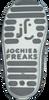 Silberne JOCHIE & FREAKS Babyschuhe 19007  - small