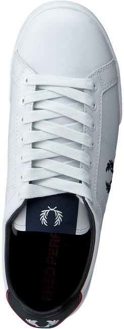 Weiße FRED PERRY Sneaker low B6202  - large