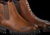 Cognacfarbene OMODA Chelsea Boots 80076 - small