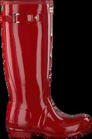 Rote HUNTER Gummistiefel WOMENS ORIGINAL TALL - medium