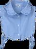 Blaue EST'Y&RO Kragen PETIT EST'09 - small