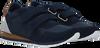 Blaue WODEN Sneaker low NOR SUEDE  - small