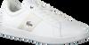 Weiße LACOSTE Sneaker CARNEBY EVO  - small