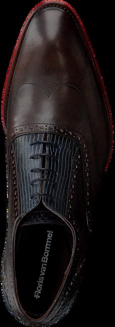 Braune FLORIS VAN BOMMEL Business Schuhe 19062  - large