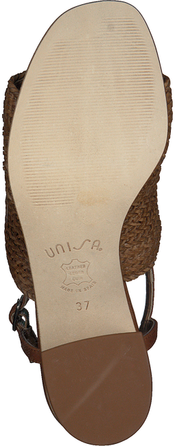 Cognacfarbene UNISA Sandalen MAELA - large