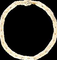 Goldfarbene NOTRE-V Kette KETTING SCHAKEL #2  - medium