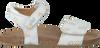 Weiße CLIC! Sandalen CL GRASS - small