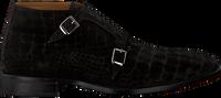 Schwarze MAZZELTOV Business Schuhe 4144  - medium
