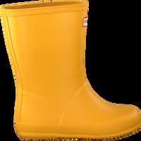 Gelbe HUNTER Gummistiefel KIDS FIRST CLASSIC  - medium