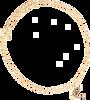 Goldfarbene ALLTHELUCKINTHEWORLD Armband FORTUNE BRACELET MOON - small