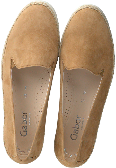 Cognacfarbene GABOR Slipper 610.2  - large
