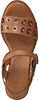 Cognacfarbene RED-RAG Sandalen 79252  - small