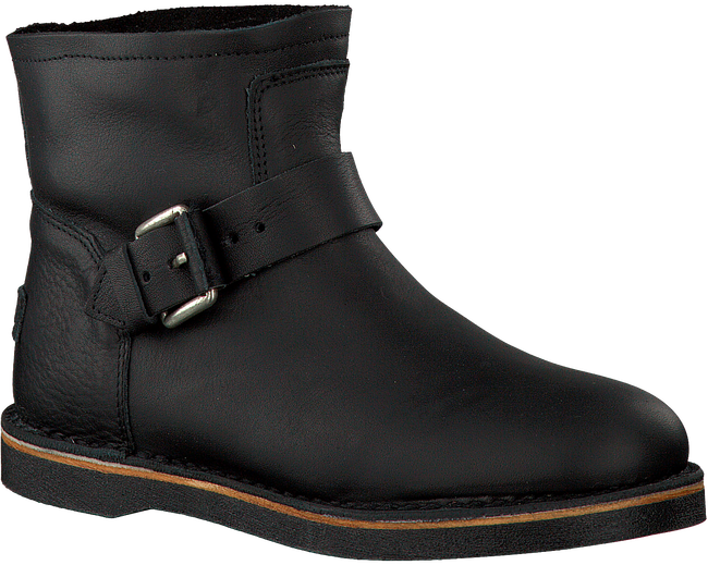 Schwarze SHABBIES Ankle Boots 181020086 - large