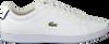 Weiße LACOSTE Sneaker CARNABY EVO HEREN  - small