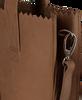 Cognacfarbene MYOMY Handtasche DELUXE OFFICE - small