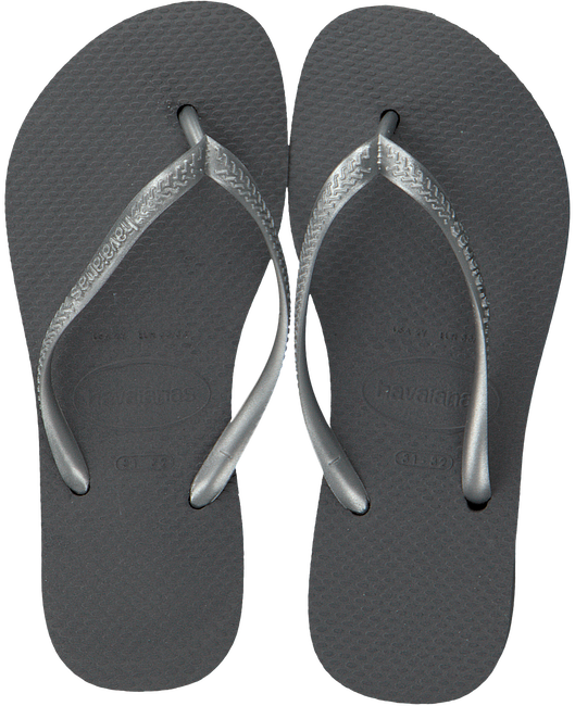 grey HAVAIANAS shoe KIDS SLIM  - large