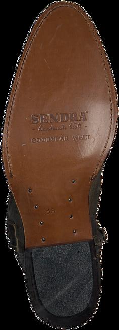 Goldfarbene SENDRA Stiefeletten 16751  - large