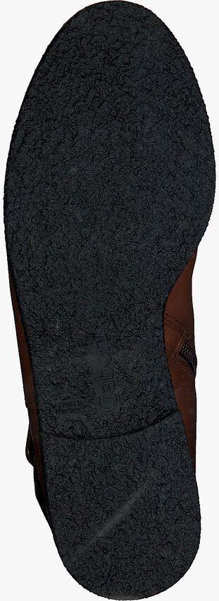Cognacfarbene GABOR Stiefeletten 92.704  - larger