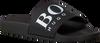 Schwarze HUGO BOSS Zehentrenner SOLAR SLID LOGO - small