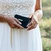 Grüne IDEAL OF SWEDEN Handy-Schutzhülle CLUTCH VELVET IPHONE8/7/6/6SPL - small