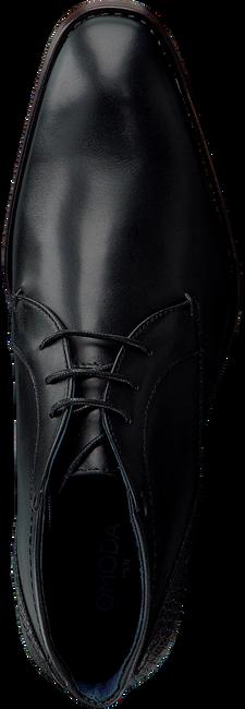 Schwarze OMODA Business Schuhe 734-A - large