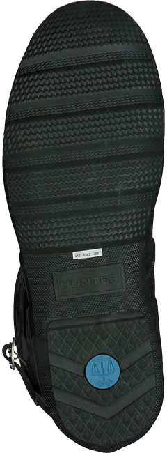 Grüne HUNTER Gummistiefel MENS ORIGINAL SHORT - large