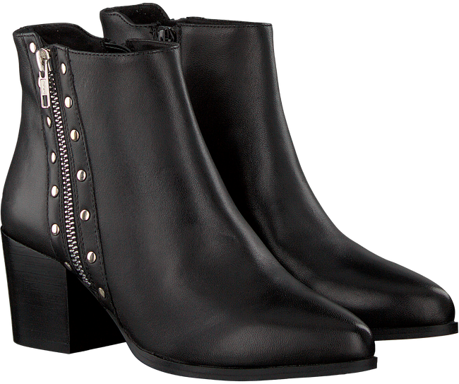 Schwarze OMODA Stiefeletten NETTY ANKLE BOOT STACKED - large