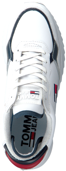 Weiße TOMMY HILFIGER Sneaker low HIGH CLEATED TOMMY JEANS  - large