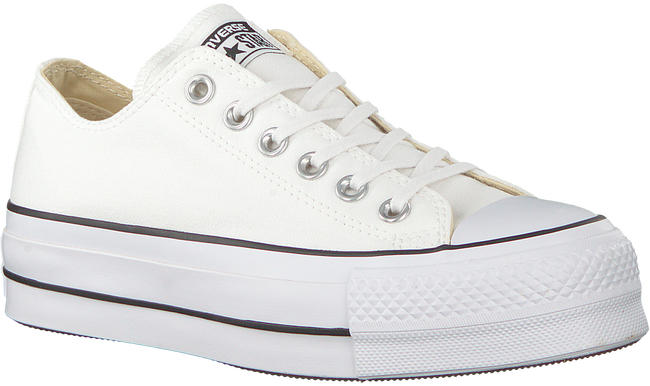 white CONVERSE shoe CHUCK TAYLOR ALL STAR LIFT  - large