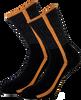 Schwarze MARCMARCS Socken DEBORAH COTTON - small