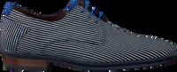 Blaue FLORIS VAN BOMMEL Business Schuhe 18441  - medium