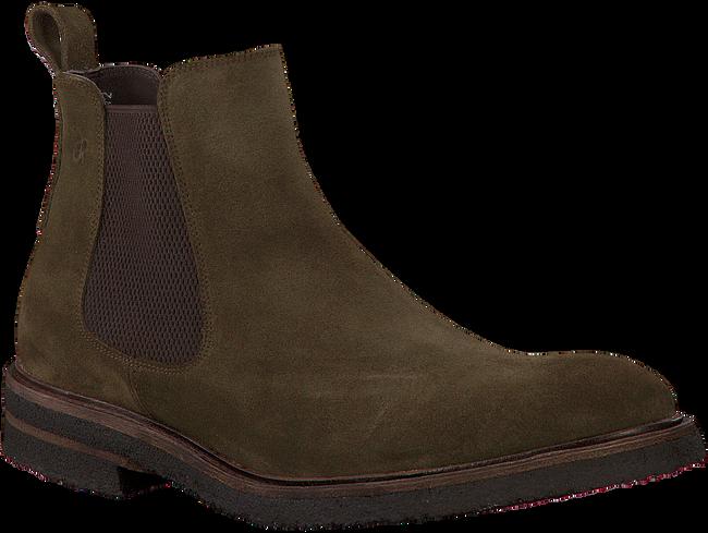 Grüne GREVE Chelsea Boots 1405 - large