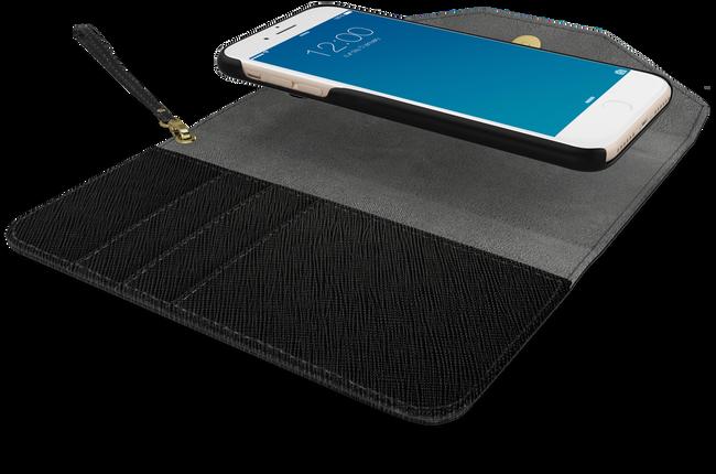 Schwarze IDEAL OF SWEDEN Handy-Schutzhülle MAYFAIR CLUTCH IPHONE 7/7SPLUS - large