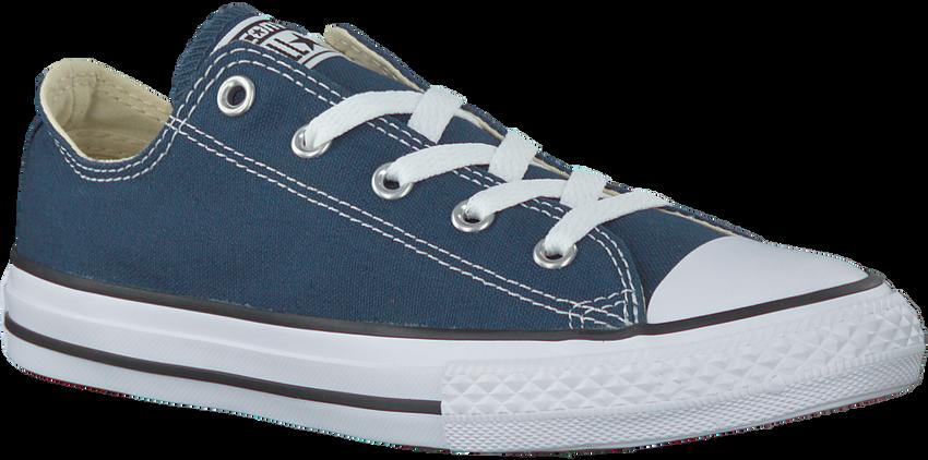 Blaue CONVERSE Sneaker CHUCK TAYLOR ALL STAR OX KIDS - larger