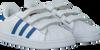 Weiße ADIDAS Sneaker SUPERSTAR CF - small