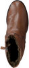 Cognacfarbene FRED DE LA BRETONIERE Stiefeletten 113080 - small