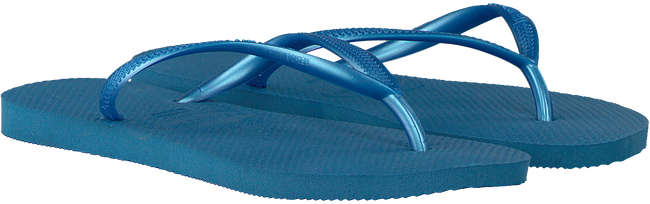 Blaue HAVAIANAS Pantolette SLIM WOMEN  - large
