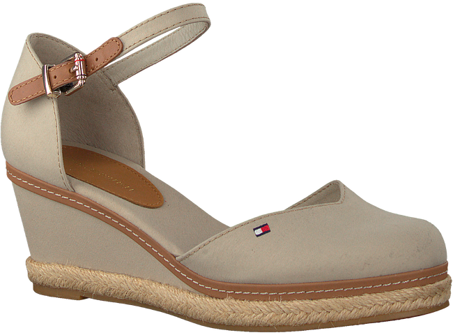 Graue TOMMY HILFIGER Sandalen BASIC CLOSED TOE MID WEDGE  - large