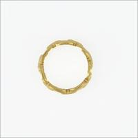 Goldfarbene NOTRE-V Ring RING SCHAKEL ONE SIZE  - medium