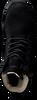 Schwarze BLACKSTONE Schnürstiefel OL22 - small