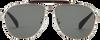 Silberne TOMS Sonnenbrille SUN-BOOKER - small
