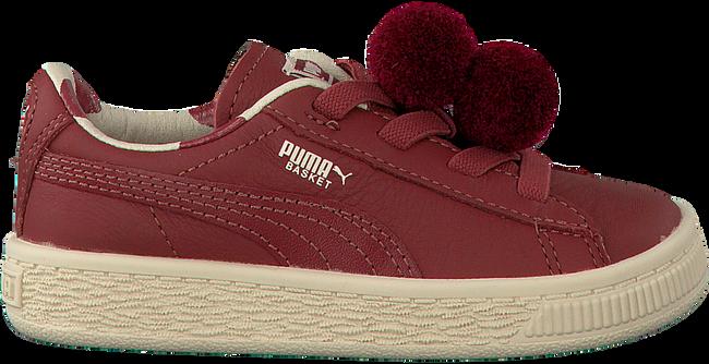 Rote PUMA Sneaker PUMA X TC BASKET POMPOM - large