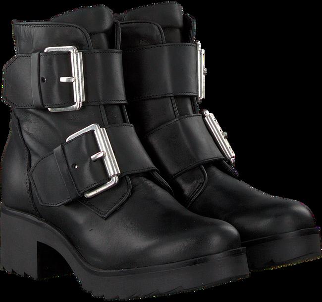 Schwarze PS POELMAN Biker Boots R14980 - large