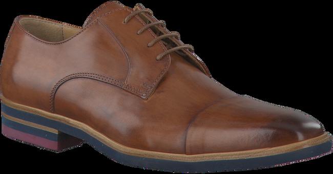 Cognacfarbene GIORGIO Business Schuhe MODENA - large